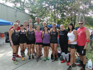 CrossFit Gritters at CrossFit Hyperformance's Low Country Clash